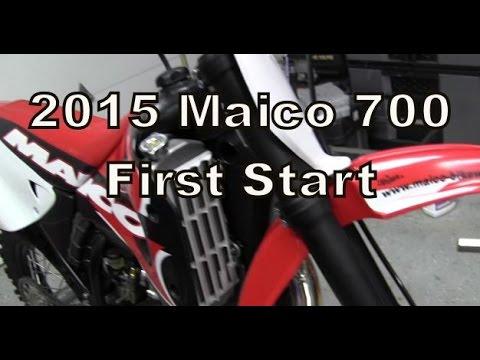 2015 Maico 700 2-Stroke First Start