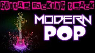 Modern Pop Guitar Backing Track (Dm) | 110 bpm - MegaBackingTracks