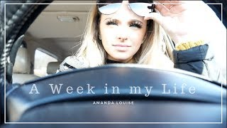A Week In My Life: First Week Back to School & P.O. Box Unboxing ll Amanda Louise thumbnail