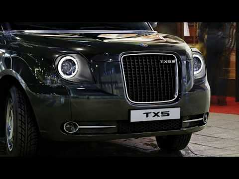 Details of its all new TX hybrid London Taxi by The London Electric Vehicle Company