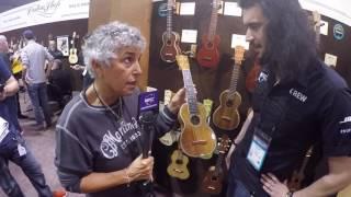 New Martin Guitars with Diane Ponzio at NAMM 2017
