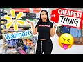 I BUY THE CHEAPEST THING ON WALMART 🤑| Mar