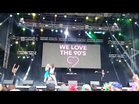 E-Rotic Sex On The Phone ☎ LIVE @ WE LOVE THE 90's Helsinki 26.8.2017
