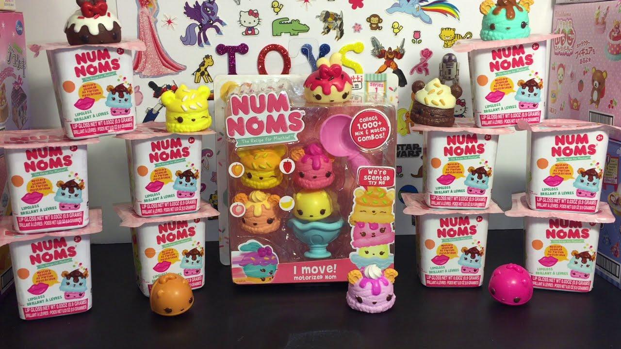 Num Noms Blind Boxes Amp Tutti Frutti Ice Cream Pack Toy