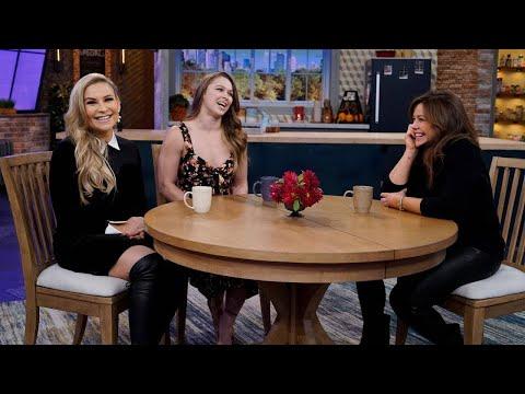WWE Stars Ronda Rousey & Natalya Neidhart Talk Pay-Per-View for Women, Evolution