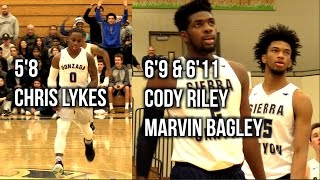 Don't Like Chino Hills Basketball? Sierra Canyon Vs. Gonzaga A BUNCH OF FUTURE D1 PLAYERS GO AT IT!!