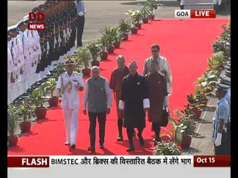 PM of Bhutan Tshering Tobgay arrives in Goa fro BRICS-BIMSTEC Summits