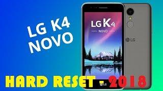 LG K4 2017 - HARD RESET - 2018