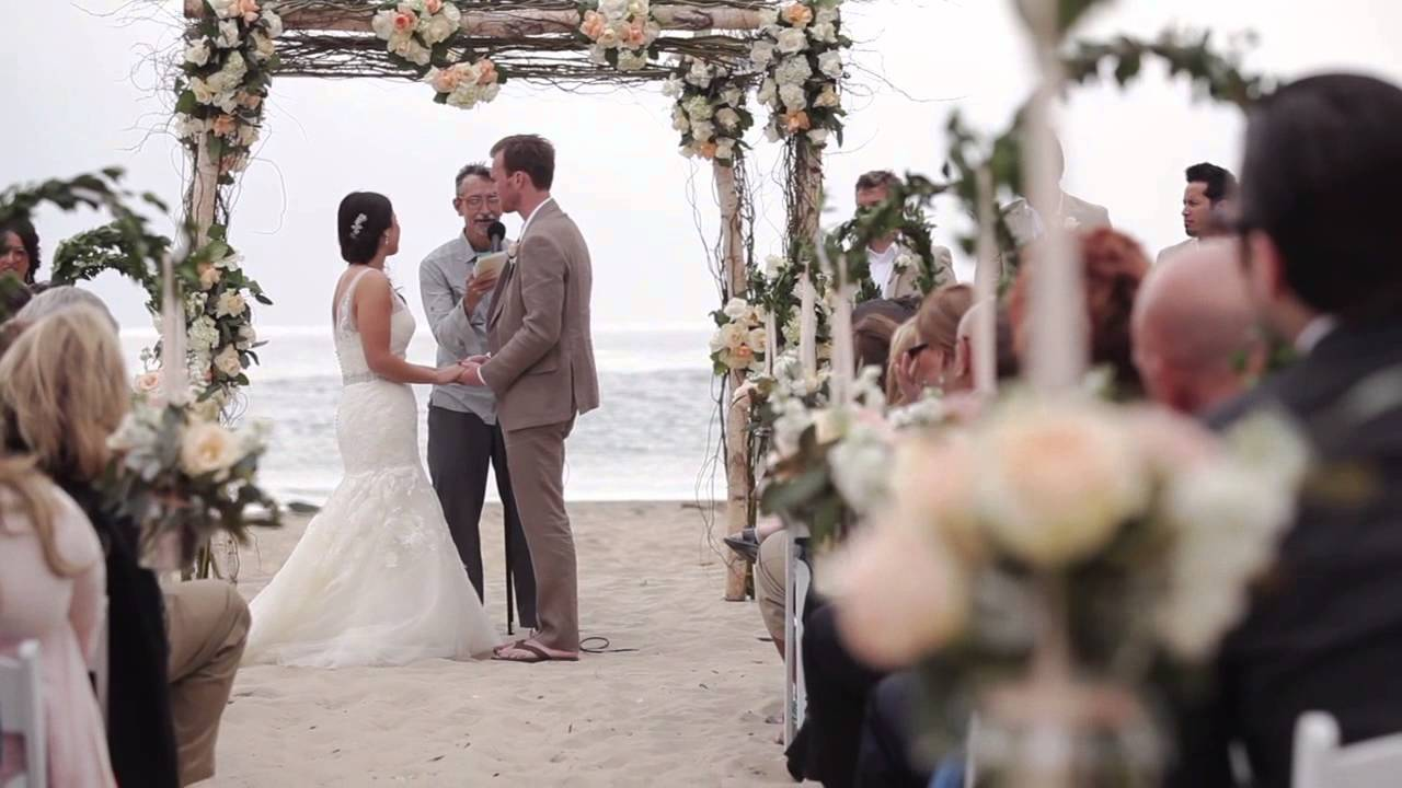 Salt Creek Beach Wedding Gianna Matt Fusion Highlights Film