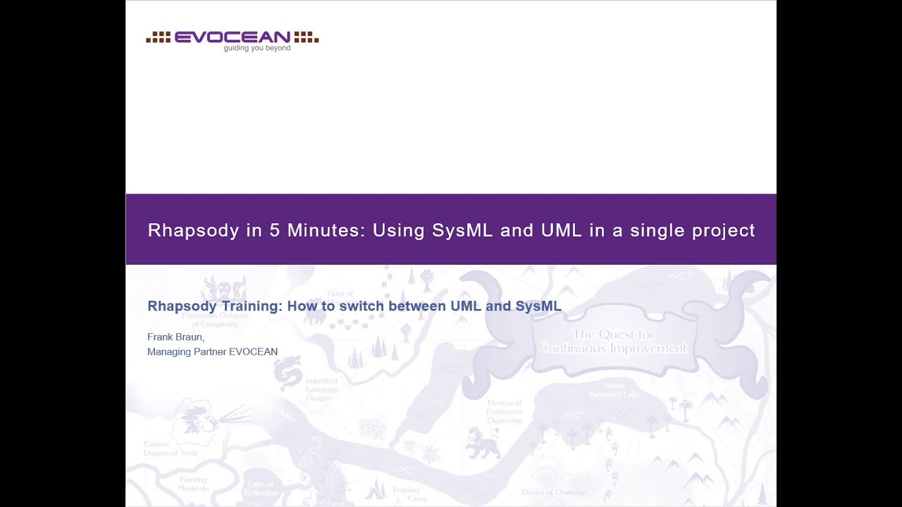 Evocean rhapsody how to use sysml and uml in one project youtube evocean rhapsody how to use sysml and uml in one project ccuart Choice Image