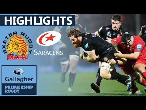 Exeter V Saracens HIGHLIGHTS | Superb Defensive Display In Grudge Match! | Gallagher Premiership