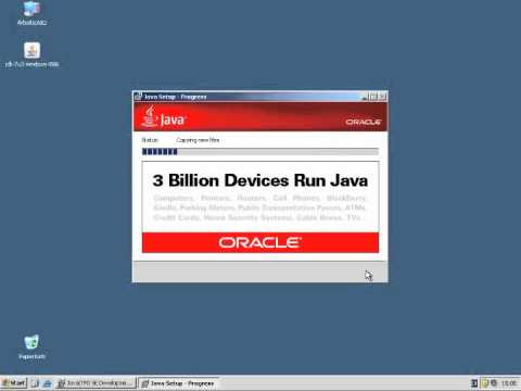 HowTo Install Java SDK (JDK) On Windows XP