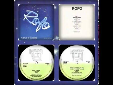 ROFO - ROFO'S THEME (EXTENDED, RADIO EDIT, LP VERSION, NEW BEAT EDIT 1987)