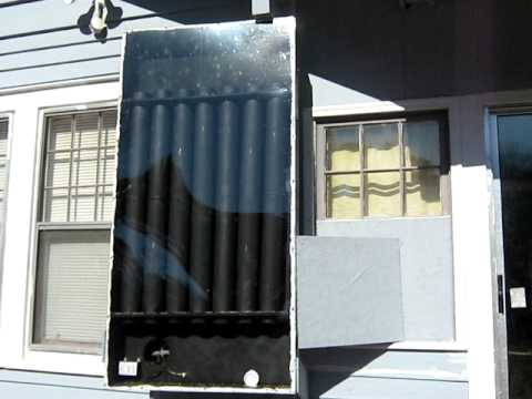 My solar powered heater - Free heat