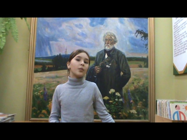 Изображение предпросмотра прочтения – МоникаБлинова читает произведение «Чародейкою Зимою…» Ф.И.Тютчева