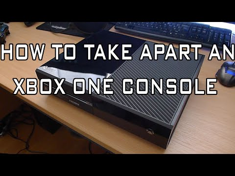 How to Open an Xbox One Console