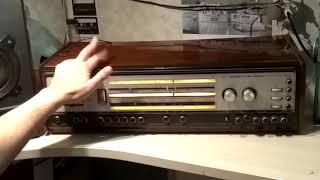 Элегия-102 транзисторная радиола. Центральный блок.