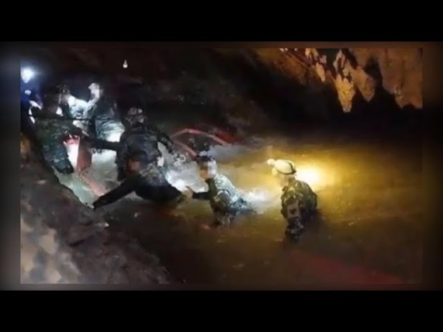 Effort to soon resume to rescue remaining trapped boys in Thai cave
