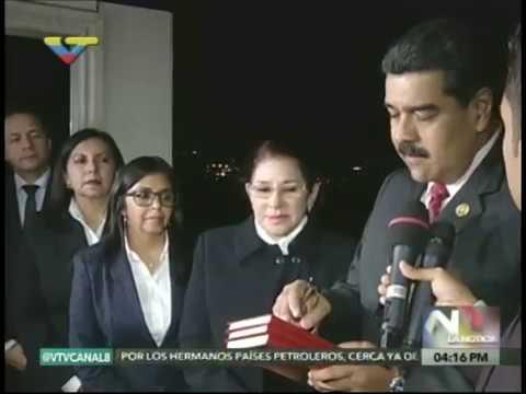 Declaraciones del Presidente Maduro desde Roma tras reunión privada con el Papa Francisco