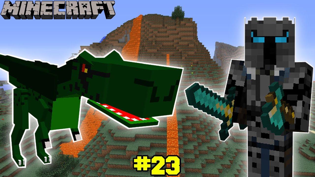 Minecraft Dinosaur Challenge Eps6 23 Youtube