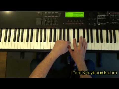 Fields of Gold Keyboard Piano Lesson