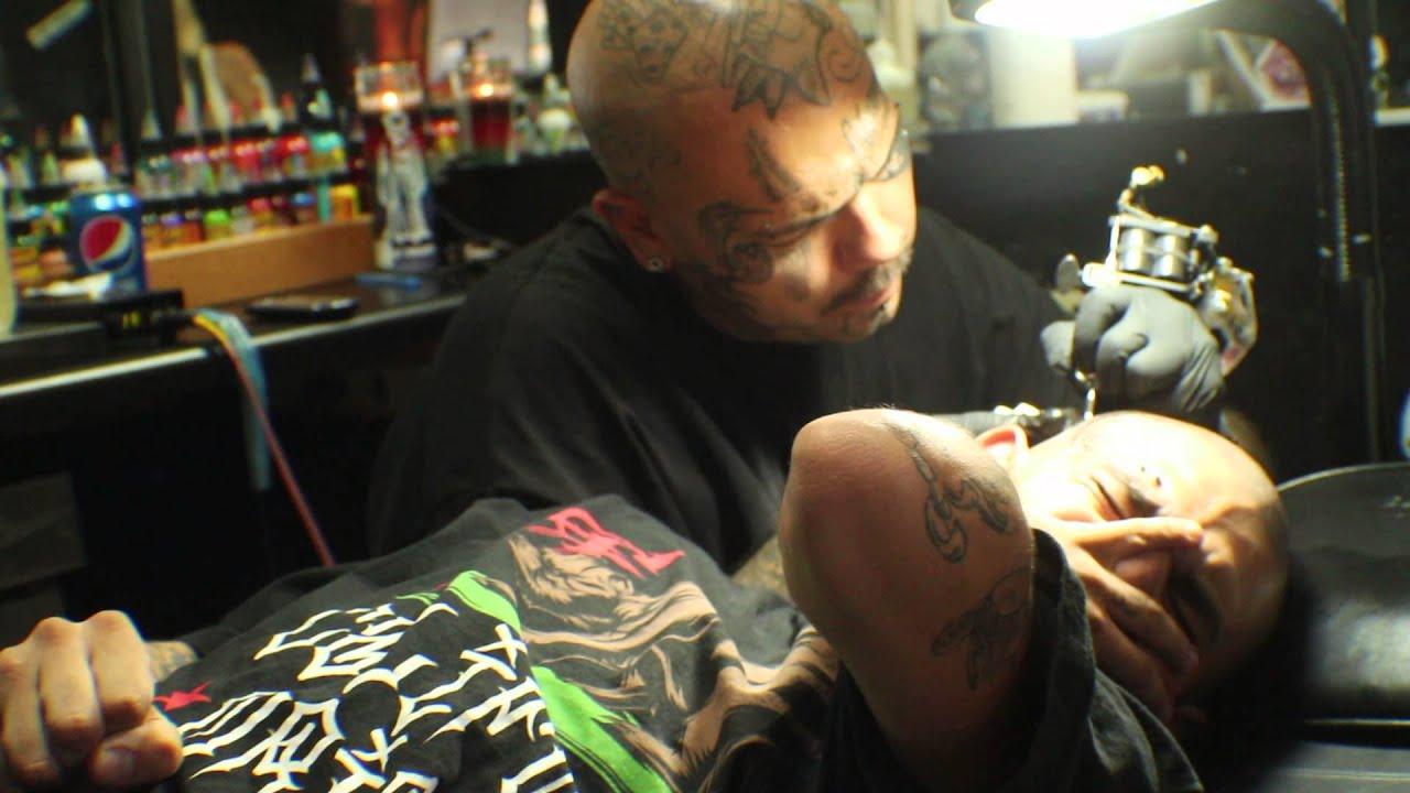 Tattoo Artist Casper Fine Art Tattoo Phoenix Arizona Youtube