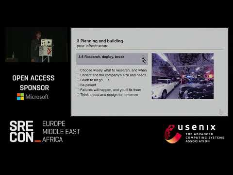 SREcon17 Europe/Middle East/Africa - Startup Systems Εngineer's Instruction Manual