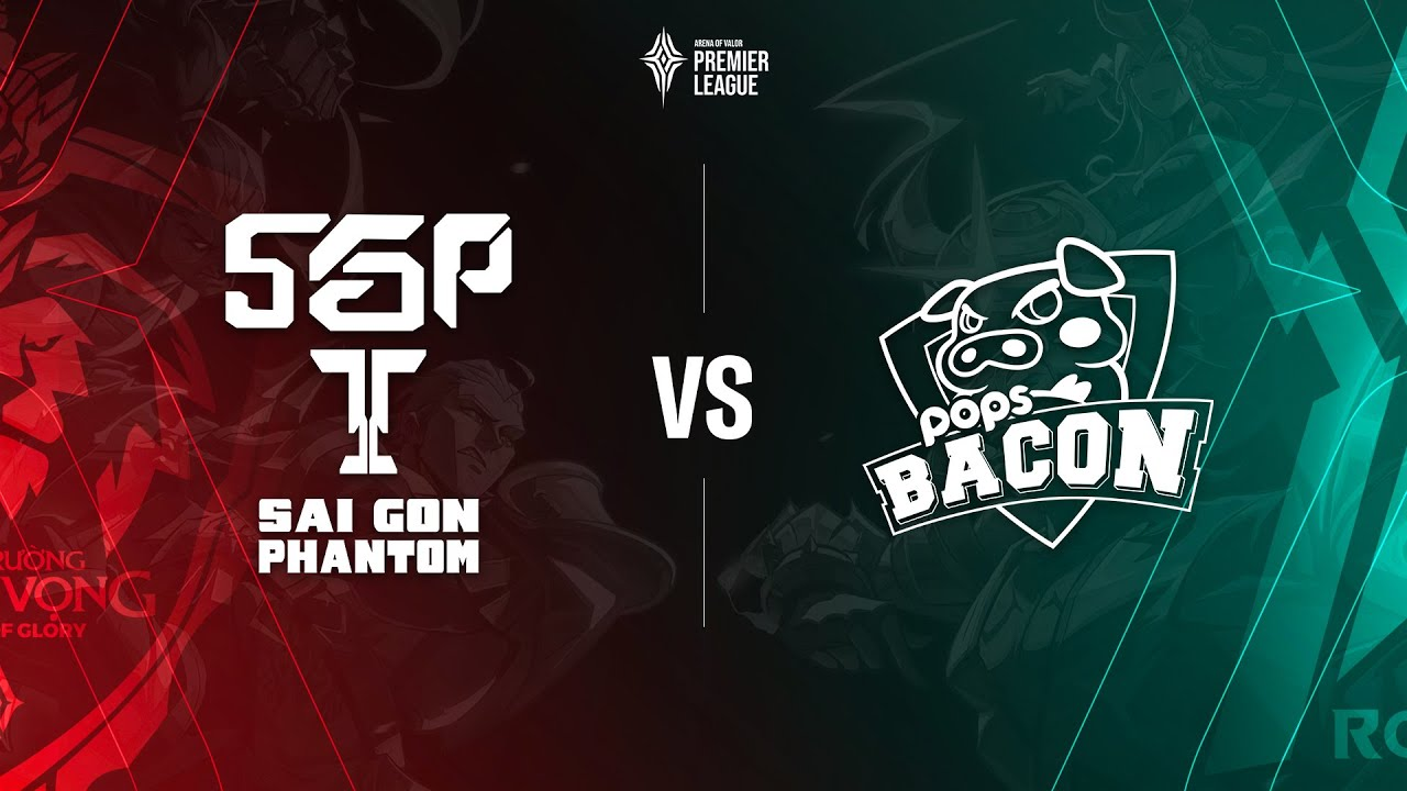 Saigon Phantom vs POPS Bacon Time [Bảng A - 09.07.2020] - APL 2020