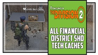 The Division 2 All Financial District SHD Tech Cache Locations Warlords of New York