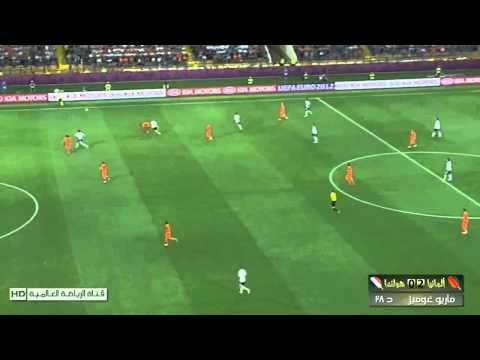 Netherlands 1 - 2 Germany - Euro 2012 All Goals HD [13-06-2012]
