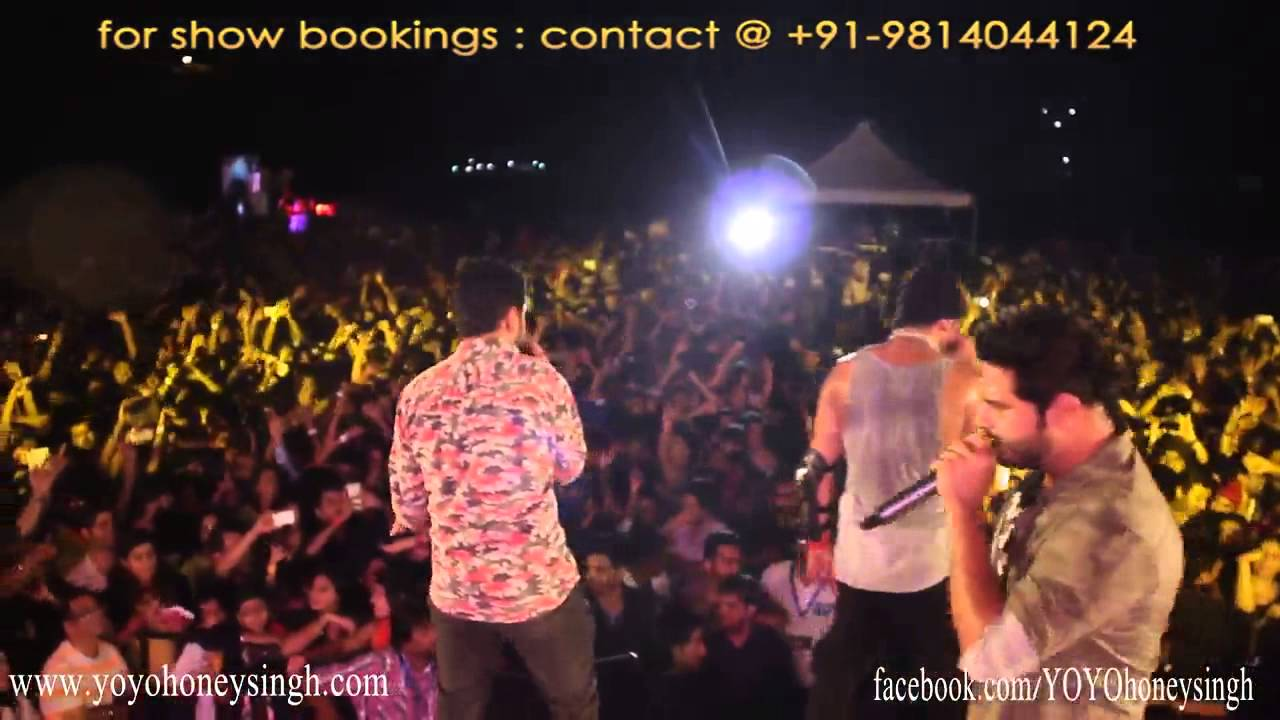 Yo Yo Honey Singh & Mafia Mundeer Live @ Hyderabad