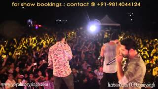 Yo Yo Honey Singh & Mafia Mundeer Live @ Hyderabad