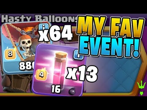 THIS IS MY FAVORITE CLASH OF CLANS EVENT!