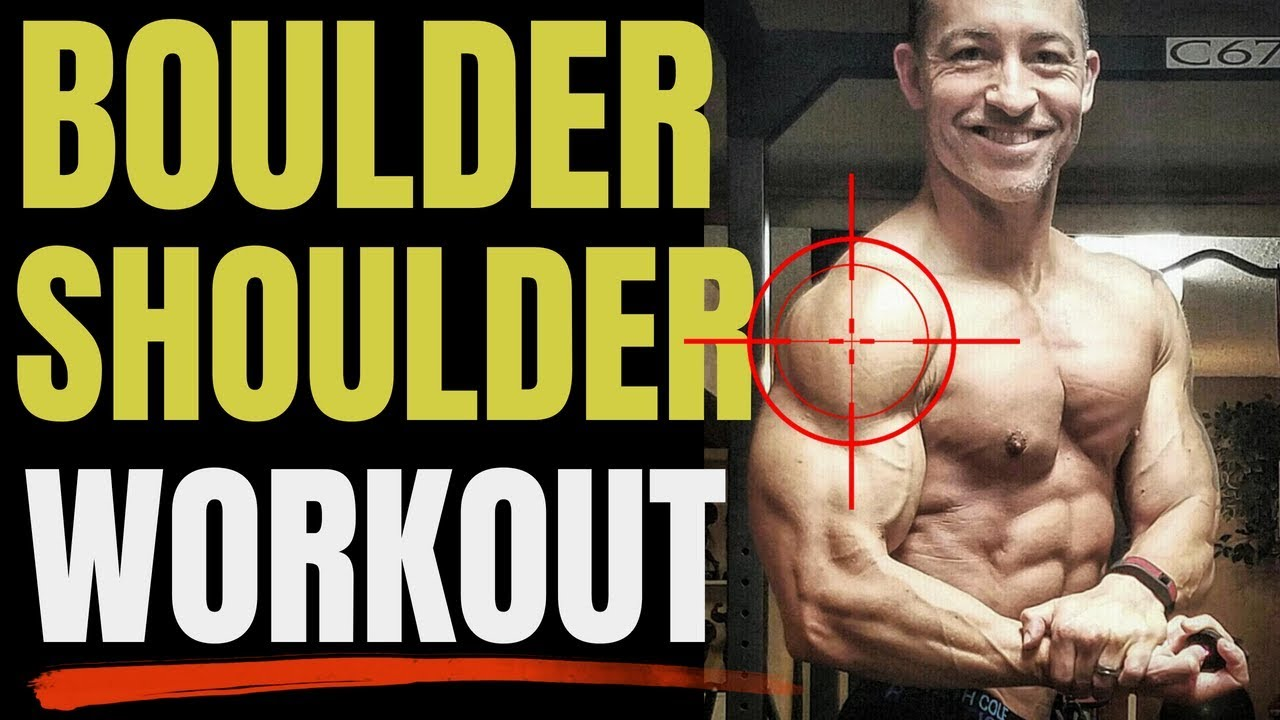 Download BOULDER Shoulder Workout For Men Over 40 (Get HUGE Delts!!)