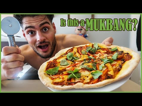 Full Day of MUKBANG   Oats, Sub, Pizza & Cookies   Food is LIFE....