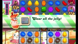 Candy Crush Saga Level 875 walkthrough (no boosters)