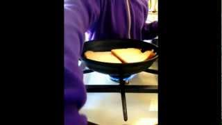 Inside-out Ultimate Grilled Cheese Sandwich