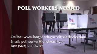 PSA Poll Workers Needed