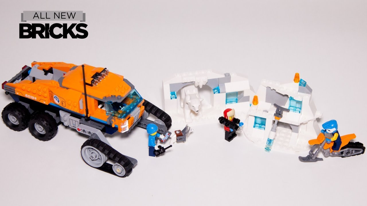 Lego City 60194 Arctic Scout Truck Speed Build