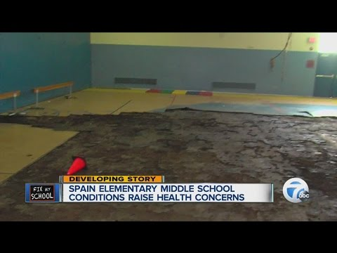 Spain Elementary Middle School conditions raise concerns