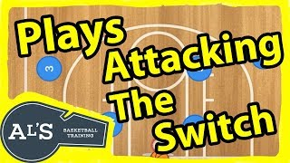 Basketball Plays To Attack a Switching Basketball Defense