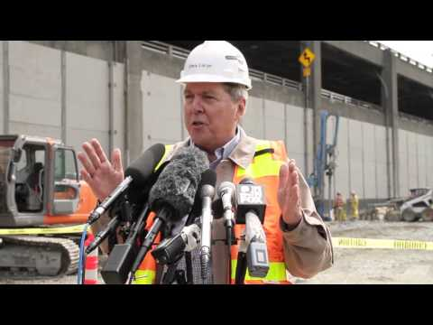 SR 99 Tunnel Project news conference -- April 21, 2014