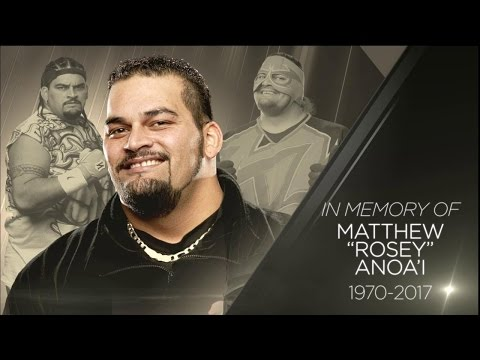 Rosey (Matt Anoa'i) Passes Away (1970-2017)