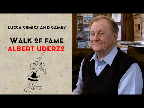 [Lucca Comics & Games] Walk of Fame: Albert Uderzo