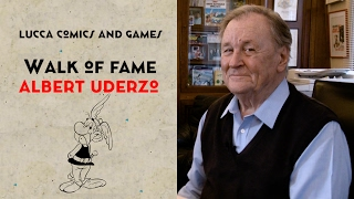 [Lucca Comics & Games] Walk of Fame: Albert Uderzo