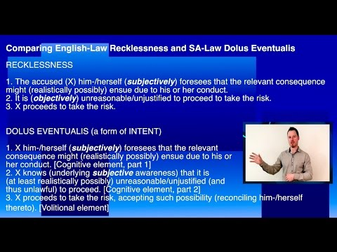 Oscar Pistorius unmasks Criminal Culpability (Part 1)