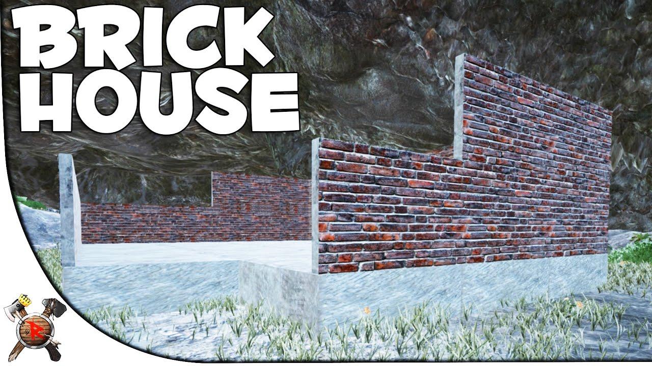 brickconrete house modded ark survival evolved valhalla primitive pvp server s5p20 youtube - Brick House 2016