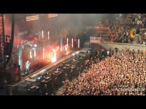 Rammstein arènes de Nîmes 11/07/2017