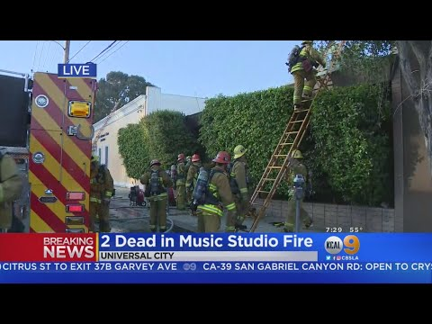 2 Dead In Music Studio Blaze In Universal City