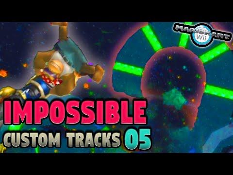 Mario Kart Wii S Impossible Custom Tracks Ep 5